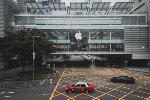 automóvil apple